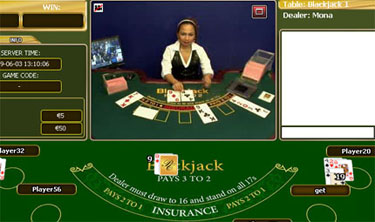 Online casino live dealers