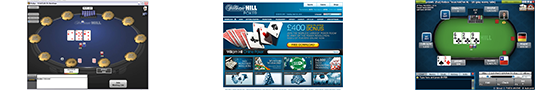 William Hill Poker screenshots